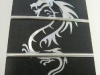 MOP 12th fret & more dragon inlay